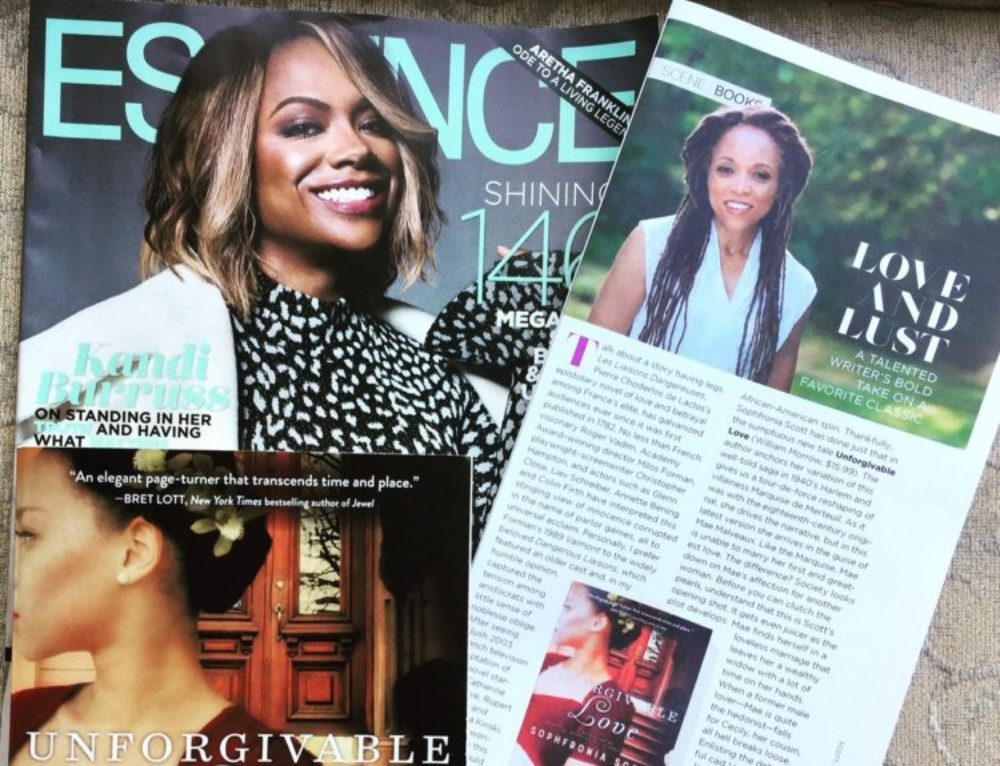 "Essence Magazine: Unforgivable Love a ""sumptuous new tale"""