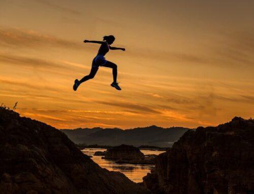 Running Toward the Positive
